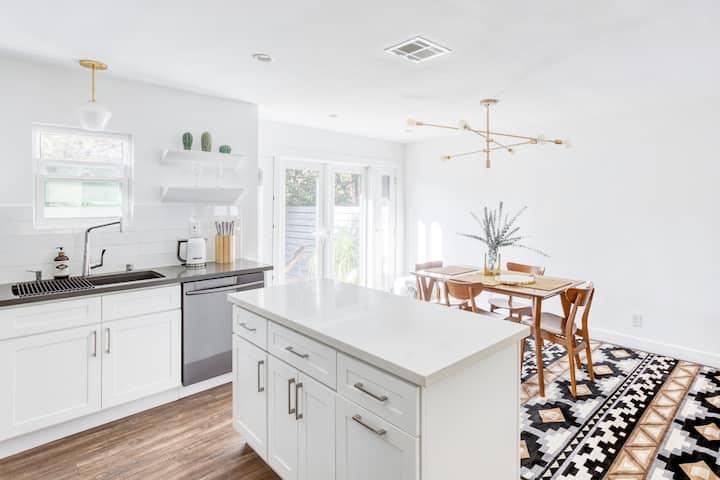 Luxury newly remodeled designer single family home