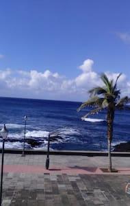 TRANQUILO Y ACOGEDOR APARTMENT IN FRONT OF THE SEA - Punta del Hidalgo - Wohnung