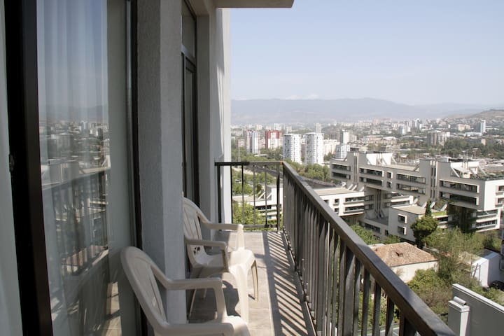 Brand new (luxury) apartment with best city views - Tbilisi - Apartament