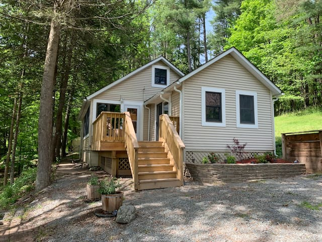 NEW! Poconos Home with River View!