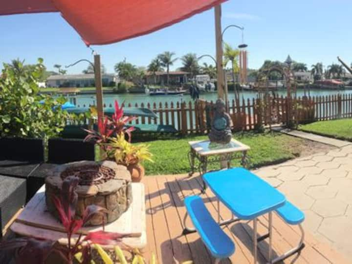 Beautiful Waterfront Home With Private Dock