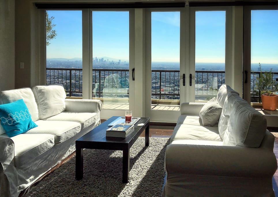 epic view villa west hollywood hills sunset strip h user zur miete in los angeles kalifornien. Black Bedroom Furniture Sets. Home Design Ideas