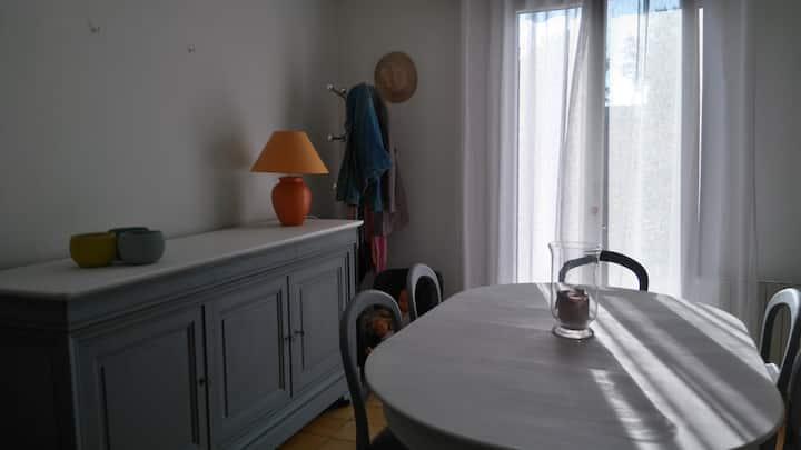 Chambre meldoise cosy calme