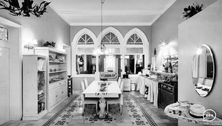 villa sultana- feeling at  home - Haifa - Huis