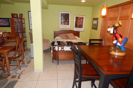 Spacious basement suite with private bath & living - Muskego