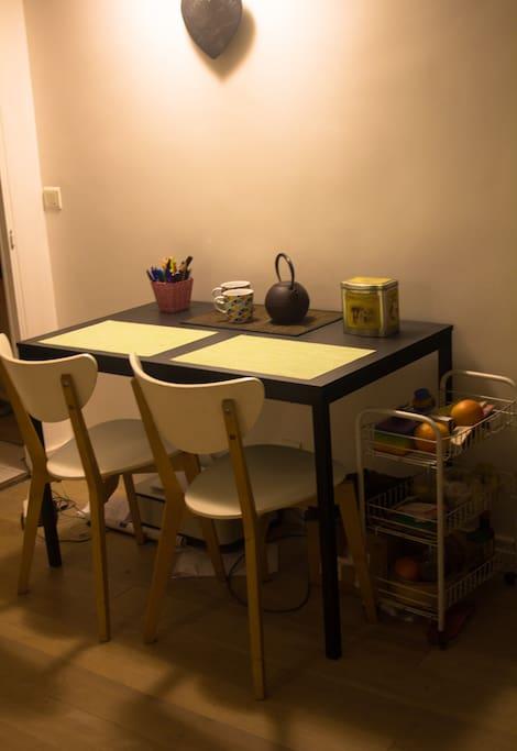 Cuisine | table (4p. max)