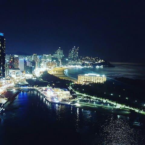 해운대 전망좋은 30층 아파트 - Busan - Apartment