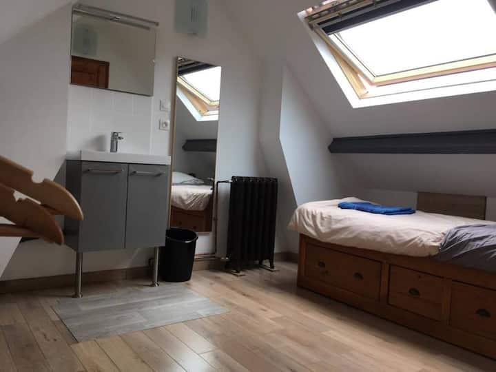 Chambre/Hôtel Lille 3mn gare/Lille/université