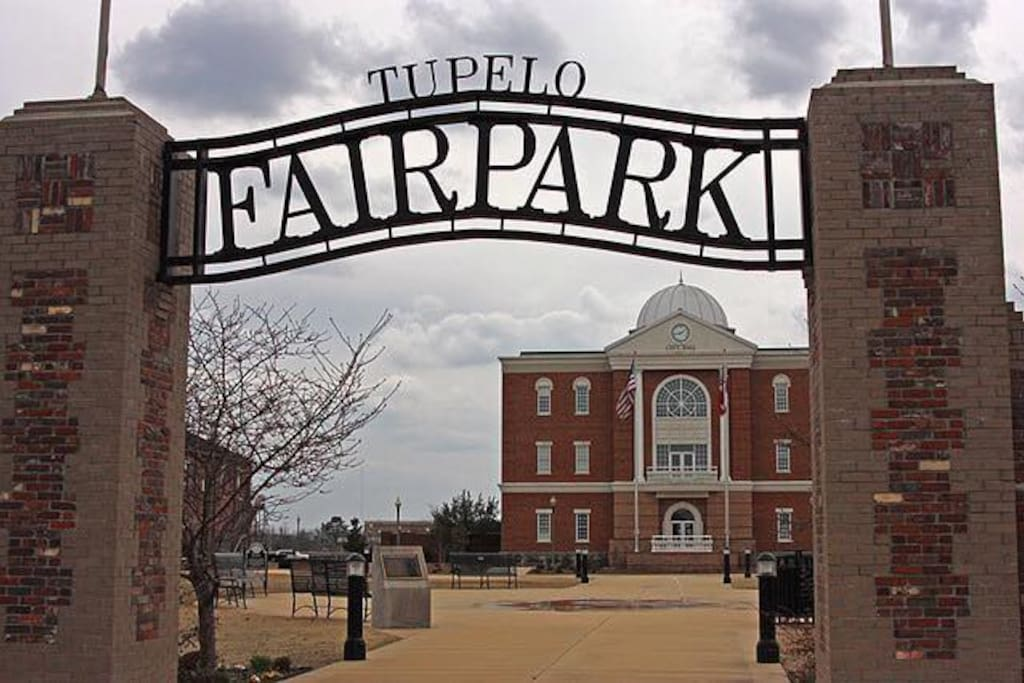Great location in Downtown Tupelo.