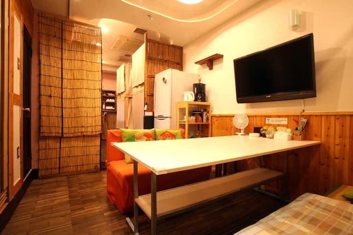 1日1組限定の宿 ポカポカホテル