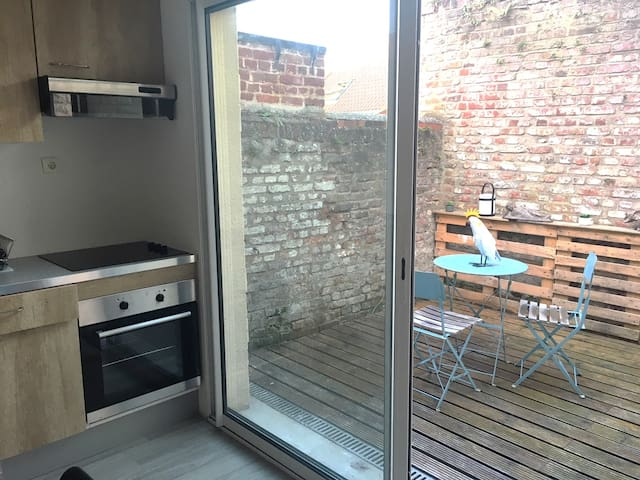 Appartement F2 prox gare et centre formation SNCF