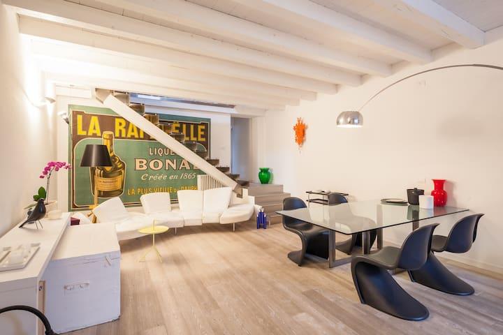 Splendido Loft in pieno centro - Vicenza - Apartment