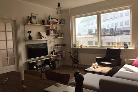 Stylish apartment with balcony in hip area - Frederiksberg - Apartment