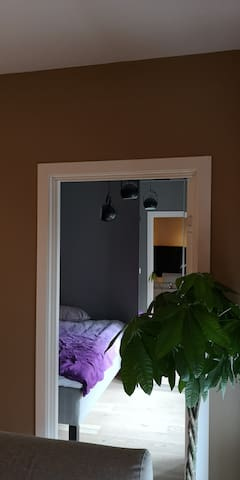 Bedroom guests, double bed 200 x 120 cm