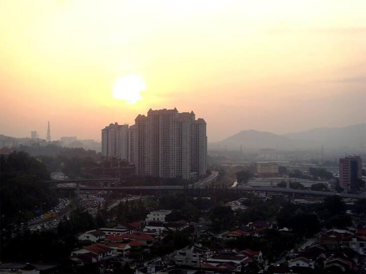 Breathtaking City View at Duta Hotel