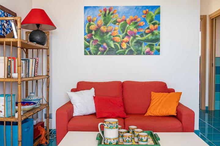 Tra Vento E Mare Casa Turchese Villas For Rent In Favignana