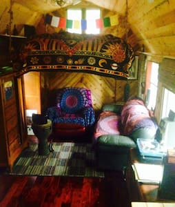 Magical Tiny Cabin - Gallatin - Rumah