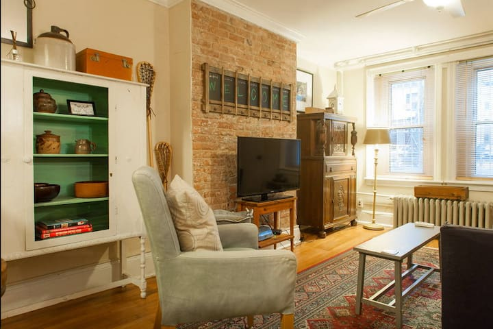Cozy Apt - Minutes from NYC - Jersey City - Lejlighed