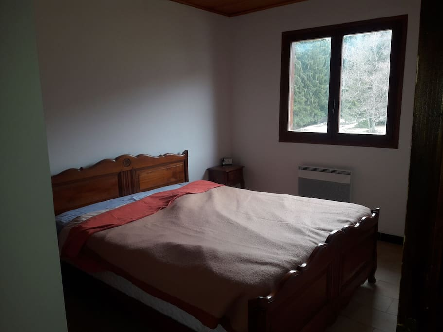 première chambre double chambre double avec vue sur forêt