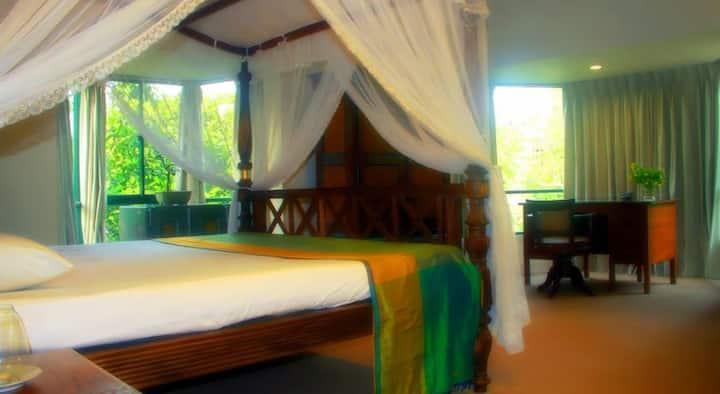 Lodge 19 Large 1 bedroom apartment AC Sleeps 2/3