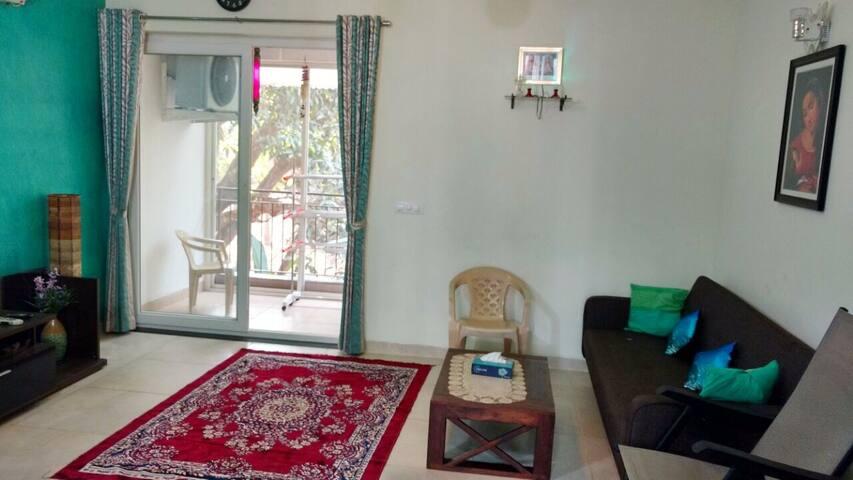 Lima's Inn - Spacious and Serene 2 BR Apartment - North Goa - Lejlighed