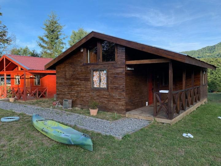 cabaña Altoroble5, full equipada, piscina, quincho