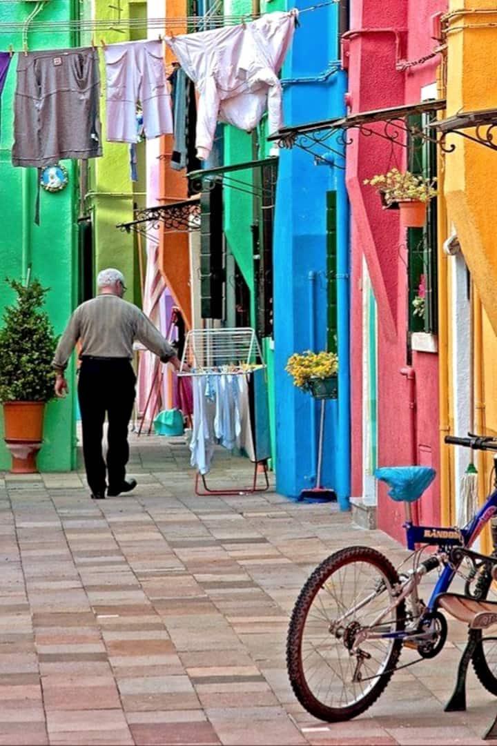 Burano: l'isola più colorata del mondo