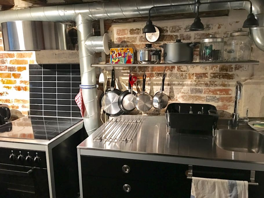Here is the kitchen (again)