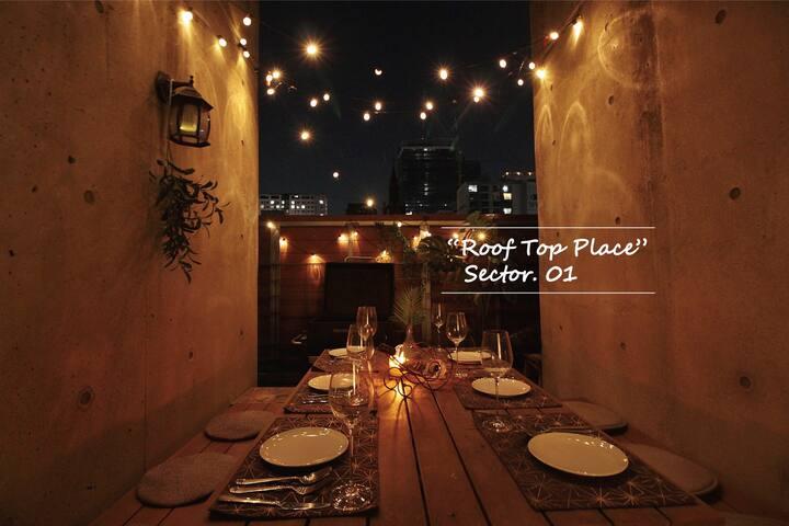 #소독완료#루프탑플레이스 on sale #Gangnam#rooftop#private