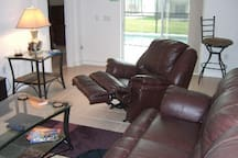 Reclining chairs and sofas
