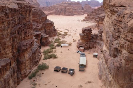 Wadi rum the second time salma camp
