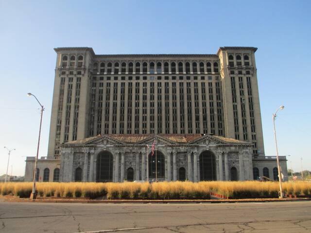 Historic Michigan Central Train Station