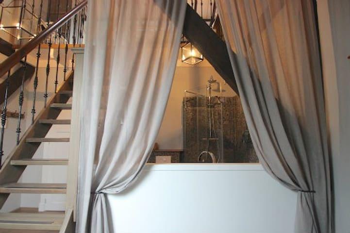Luxe kamer in landelijke B&B (Wiedenkamer) - Sint Jansklooster - Bed & Breakfast