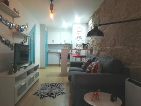 Apartement 2 persons, breakfast, Wifi,Sky TV