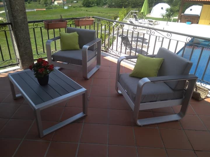 Villa  voor 8 - 10 personen in Noord Portugal