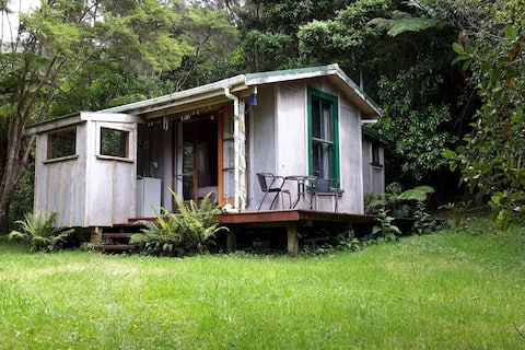 The Hut forest cabin