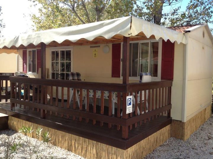 Mobilehome| Italy | Tuscany| at the sea | Chalet 6