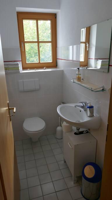 WC (Erdgeschoss)