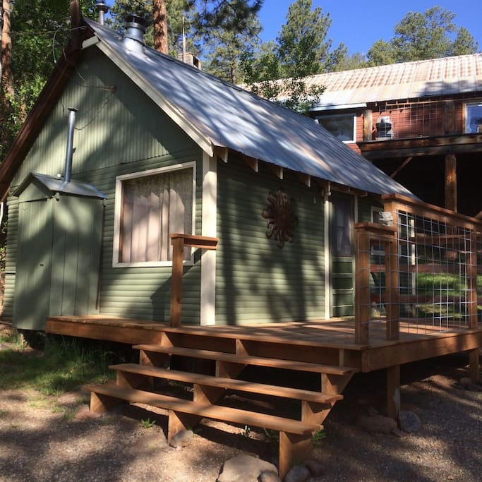Cabin 6 On Vallecito Lake With Lake View Cabins For