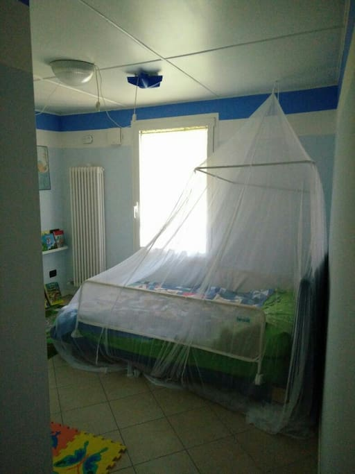 1st flooor Kids room with 1,5 bed