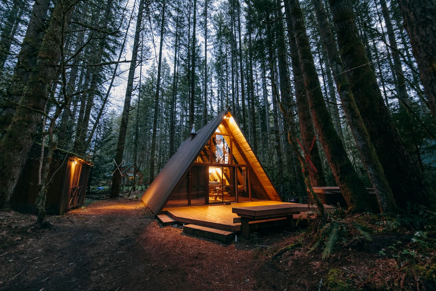Sky Haus A-Frame Cabin Airbnb Skykomish
