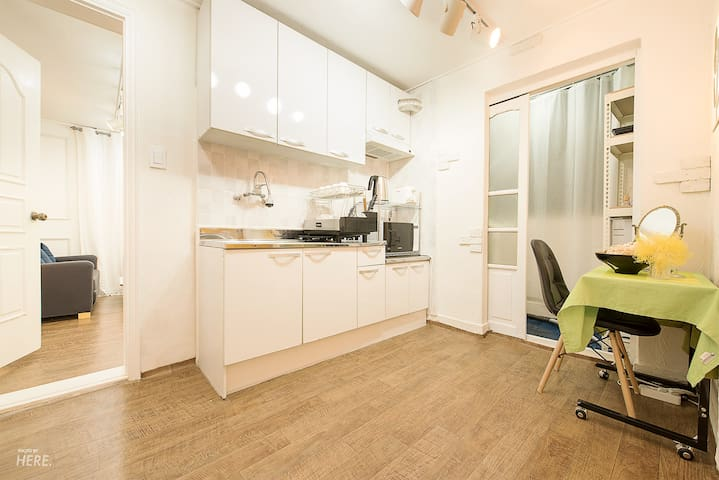 Three rooms with hong dae special location green