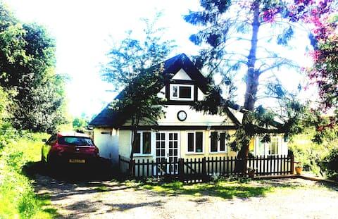 Idyllic Country Cottage Church Minshull Village