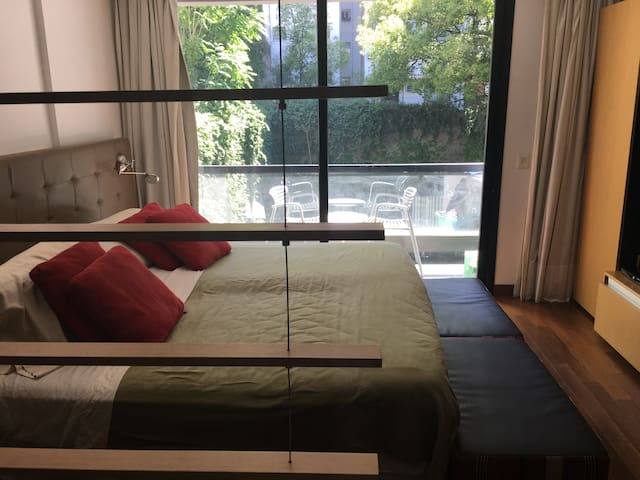 Beatiful modern studio in the heart of Recoleta - Buenos Aires - Departamento