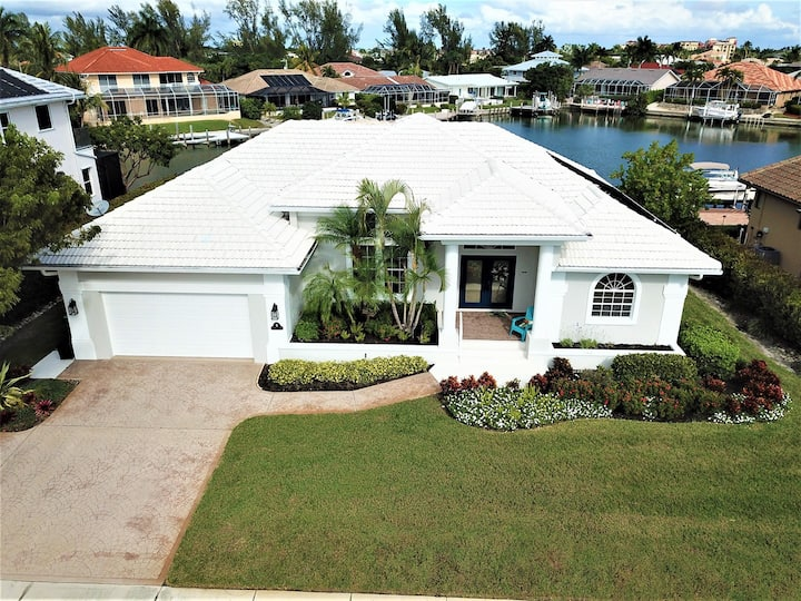 "Classy ""Walk to the Beach"" Waterfront home...Come and Enjoy"