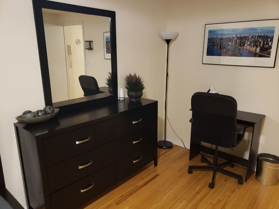 Vanity and work-space/office