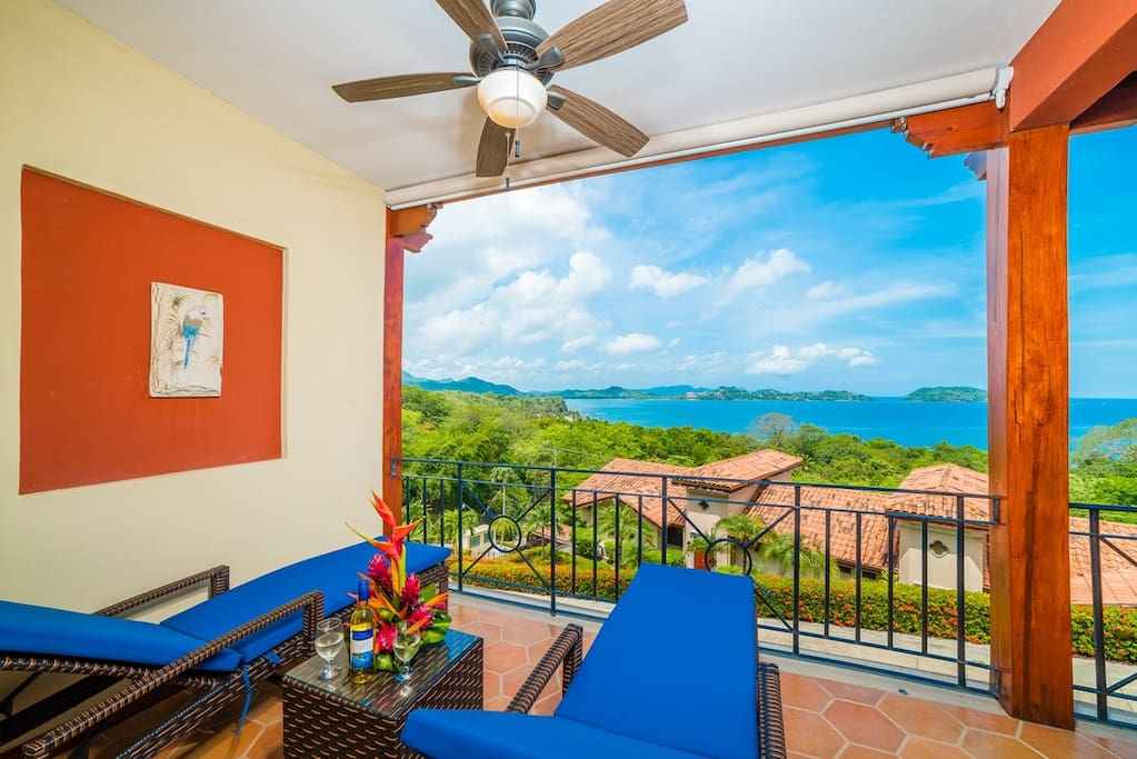 Sit and relax in front of this fantastic view of Playa Penca and Guanacaste's nature!