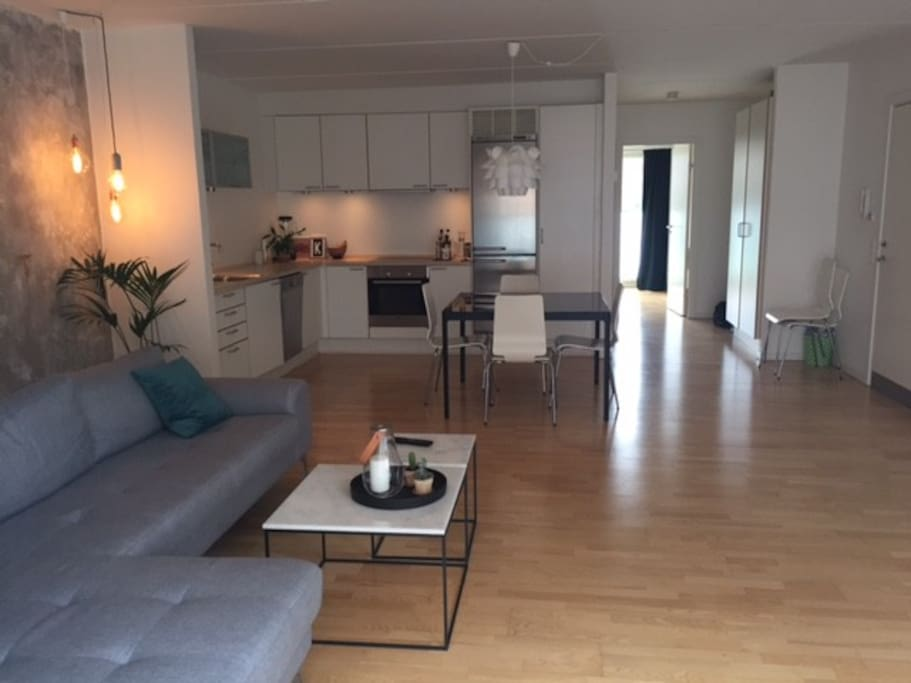 Livingroom/køkken