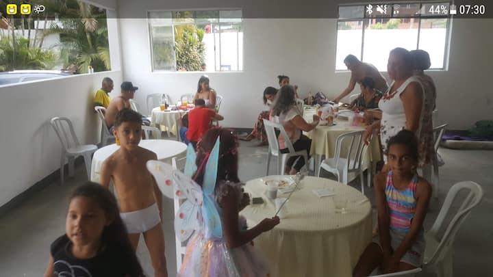 Chácara para festas  250 pessoas