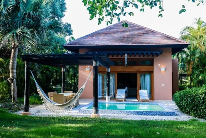 Green Village + pool